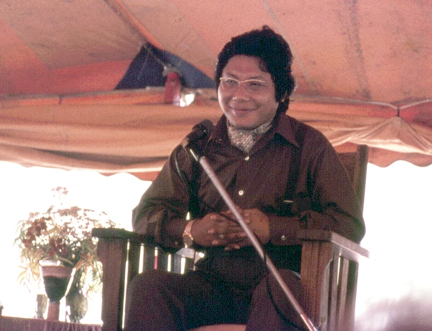 Chögyam Trungpa at RMDC, 1974